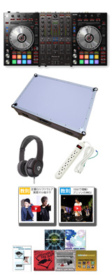 Pioneer(パイオニア) / DDJ-SX3 【Serato DJ Pro対応 Serato Flip+P'NT同梱】 専用フライトケースセット (WHITE) 10大特典セット