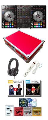 Pioneer(パイオニア) / DDJ-SX3 【Serato DJ Pro対応 Serato Flip+P'NT同梱】 専用フライトケースセット (RED) 10大特典セット