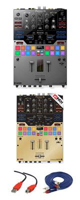 Pioneer(パイオニア) / DJM-S9-S 専用スキン(BRUSHED GOLD) セット - SERATO DJ専用2CHミキサー- 2大特典セット