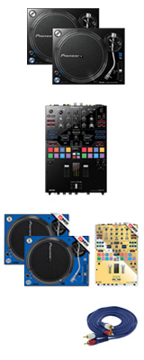 Pioneer(パイオニア) / PLX-1000 / DJM-S9 専用スキン GWイメージカラーセット 1大特典セット