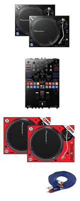 Pioneer(パイオニア) / PLX-1000 / DJM-S9 専用スキン  CBイメージカラーセット 1大特典セット