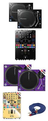 Pioneer(パイオニア) / PLX-1000 / DJM-S9 専用スキン  LLイメージカラーセット 1大特典セット