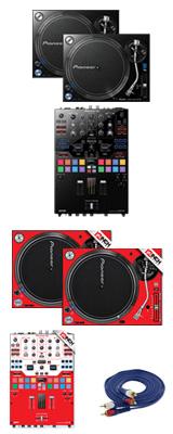 Pioneer(パイオニア) / PLX-1000 / DJM-S9 専用スキン  MHイメージカラーセット 1大特典セット
