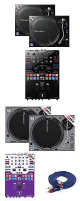 Pioneer(パイオニア) / PLX-1000 / DJM-S9 専用スキン  SKイメージカラーセット 1大特典セット