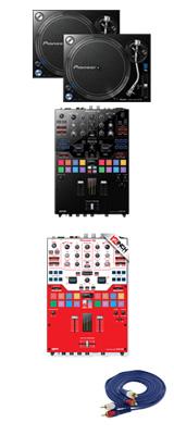 Pioneer(パイオニア) / PLX-1000 / DJM-S9 専用スキン  PTイメージカラーセット 1大特典セット