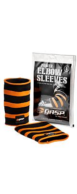 GASP / Power Elbow Sleeves (Black/Flame) XXXLサイズ 肘サポーター