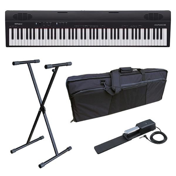 【オススメAセット】 Roland(ローランド) / GO:PIANO88 ( GO-88P ) 88鍵盤 - キーボード -