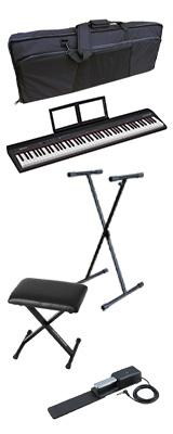 【イス付きオススメAセット】 Roland(ローランド) / GO:PIANO88 ( GO-88P ) 88鍵盤 - キーボード - 1大特典セット