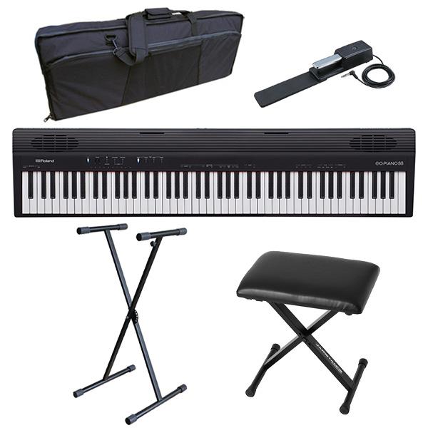 【イス付きオススメAセット】 Roland(ローランド) / GO:PIANO88 ( GO-88P ) 88鍵盤 - キーボード -