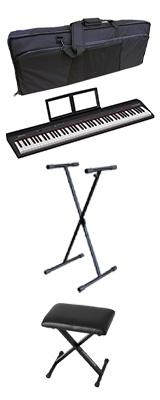 【イス付きオススメBセット】 Roland(ローランド) / GO:PIANO88 ( GO-88P ) 88鍵盤 - キーボード - 1大特典セット