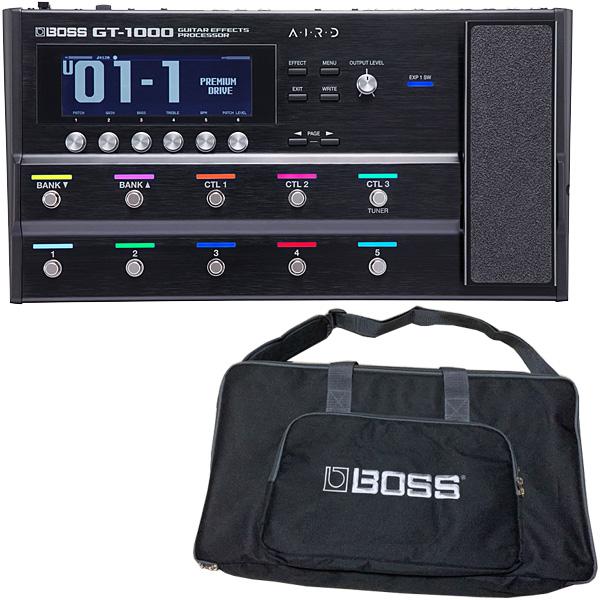 【限定1台!純正ケース付!】 Boss(ボス) / GT-1000 Guitar Effects Processor - マルチエフェクター -