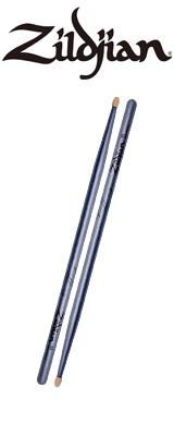 Zildjian(ジルジャン) / Chroma Series / 5A Chroma Blue(ブルー) / Wood Tip [LAZLZ5ACBU] - ドラムスティック ヒッコリー -