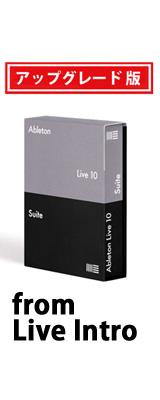 ableton(エイブルトン) / Live 10 Suite UPG from Live Intro (ダウンロード版用シリアルコード記載用紙のみ) - DAWソフトウェア -【アップグレードキャンペーン9月3日まで】