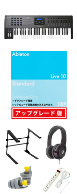 Arturia(アートリア) / KEYLAB 49 MK 2 (Black) / Ableton Live 10 Standard UPG セット 4大特典セット