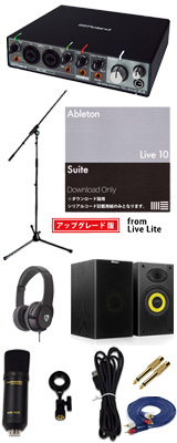 ■ご予約受付■ 【Live 10 Suite UPG DTM初心者レコーディングセットB】 Marantz(マランツ) MPM1000UJ / Rubix24 セット 1大特典セット