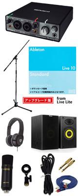 ■ご予約受付■ 【Live 10 Standard UPG DTM初心者レコーディングセットA】 Marantz(マランツ) MPM1000UJ / Rubix22 セット 1大特典セット