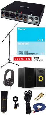 ■ご予約受付■ 【Live 10 Standard UPG DTM初心者レコーディングセットB】 Marantz(マランツ) MPM1000UJ / Rubix24 セット 1大特典セット