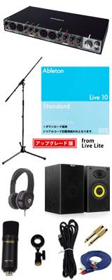 ■ご予約受付■ 【Live 10 Standard UPG DTM初心者レコーディングセットC】 Marantz(マランツ) MPM1000UJ / Rubix44 セット 1大特典セット