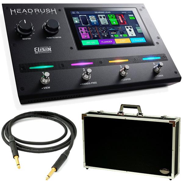 【ハードケース&Beldenシールドセット】 HEADRUSH(ヘッドラッシュ) / Gigboard - ギタープロセッサー モデリング - 《ギターマルチエフェクター》