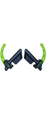 Prime Fitness USA(プライムフィットネス) /  PRIME RO-T8 Handles (Green) ケーブルトレーニング用アタッチメント ハンドル グリップ セパレートタイプ