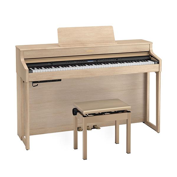 Roland(ローランド) / HP702-LAS ( ライトオーク調仕上げ ) - デジタルピアノ 電子ピアノ -【専用高低自在椅子・ヘッドホン・楽譜集付き】