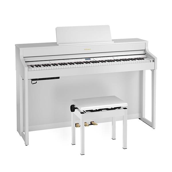 ■ご予約受付■ Roland(ローランド) / HP702-WHS ( ホワイト ) - デジタルピアノ 電子ピアノ -【専用高低自在椅子・ヘッドホン・楽譜集付き】【全国配送・組立設置無料(※離島は除く・代引き不可)】