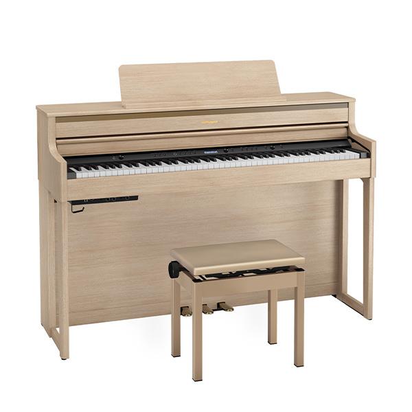 Roland(ローランド) / HP704-LAS ( ライトオーク調仕上げ ) - デジタルピアノ 電子ピアノ -【専用高低自在椅子・ヘッドホン・楽譜集付き】