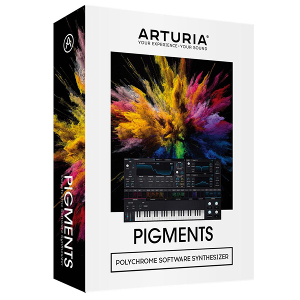 Arturia(アートリア) / PIGMENTS ソフトウェアシンセサイザー 【4月21日(日)発売】