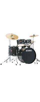【基本セット】 TAMA(タマ) / IMPERIALSTAR(インペリアルスター) [IE52KH6HC-BOW(ブラック・オーク・ラップ)] - 22インチバスドラムセット - 5大特典セット