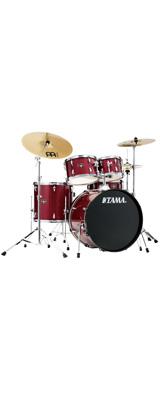 【基本セット】 TAMA(タマ) / IMPERIALSTAR(インペリアルスター) [IE52KH6HC-CPM(キャンディ・アップル・ミスト)] - 22インチバスドラムセット - 5大特典セット