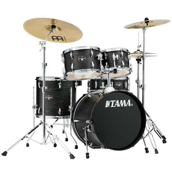 【基本セット】 TAMA(タマ) / IMPERIALSTAR(インペリアルスター) [IE58H6HC-BOW(ブラック・オーク・ラップ)] - 18インチバスドラムセット - 4大特典セット