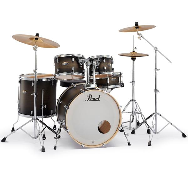 Pearl(パール) /  Decade Maple [サテンブラックバースト] 【DMP825S/C 262】 ドラム一式セット シンバル付フルセット