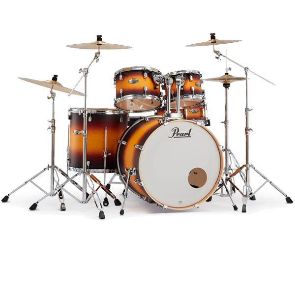 Pearl(パール) /  Decade Maple [クラシックサテンアンバースト] 【DMP825S/C-2CS 225】 ドラム一式セット シンバル付フルセット 2クラッシュタイプ