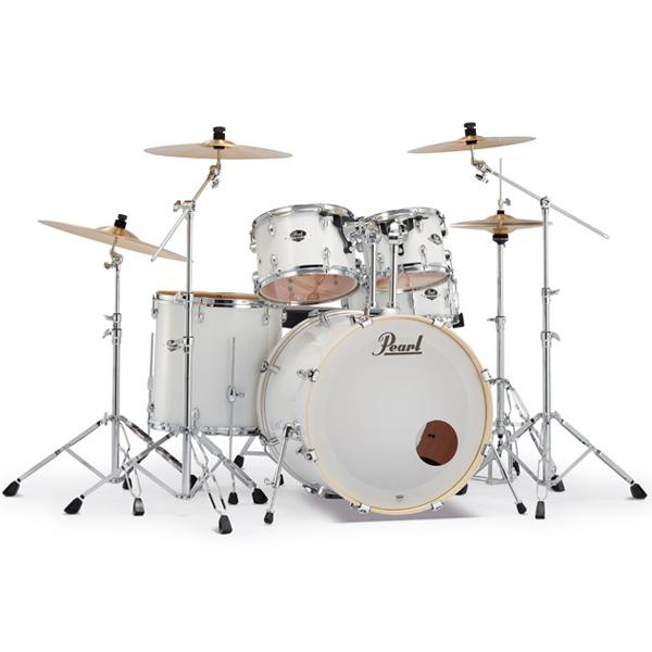 Pearl(パール) / EXPORT 2クラッシュシンバルパック [ピュアホワイト] 【EXX725S/C-2CSN 33】 ドラム一式セット シンバル付フルセット
