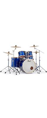 Pearl(パール) / EXPORT EXX Covering 2クラッシュシンバルパック [ハイボルテージブルー] 【EXX725S/C-2CSN 717】 ドラム一式セット シンバル付フルセット 1大特典セット
