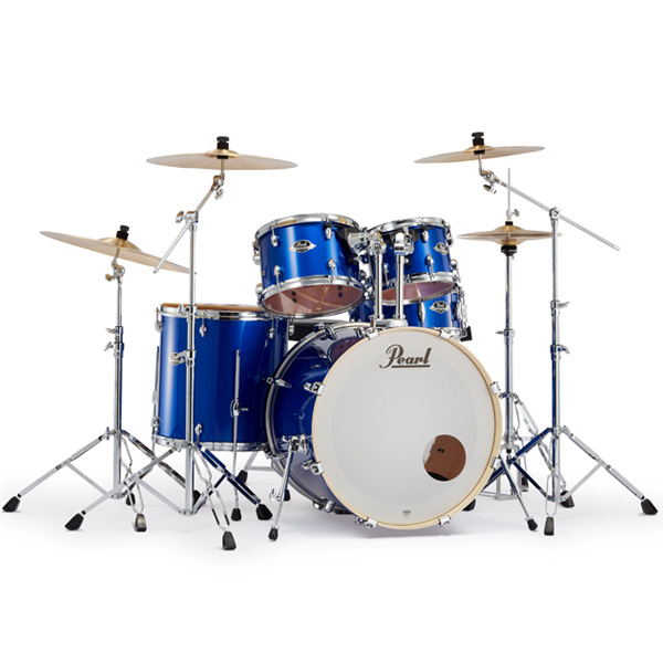 Pearl(パール) / EXPORT 2クラッシュシンバルパック [ハイボルテージブルー] 【EXX725S/C-2CSN 717】 ドラム一式セット シンバル付フルセット