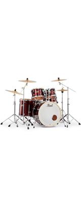 Pearl(パール) / EXPORT EXX Covering 2クラッシュシンバルパック [バーガンディ] 【EXX725S/C-2CSN 760】 ドラム一式セット シンバル付フルセット 1大特典セット