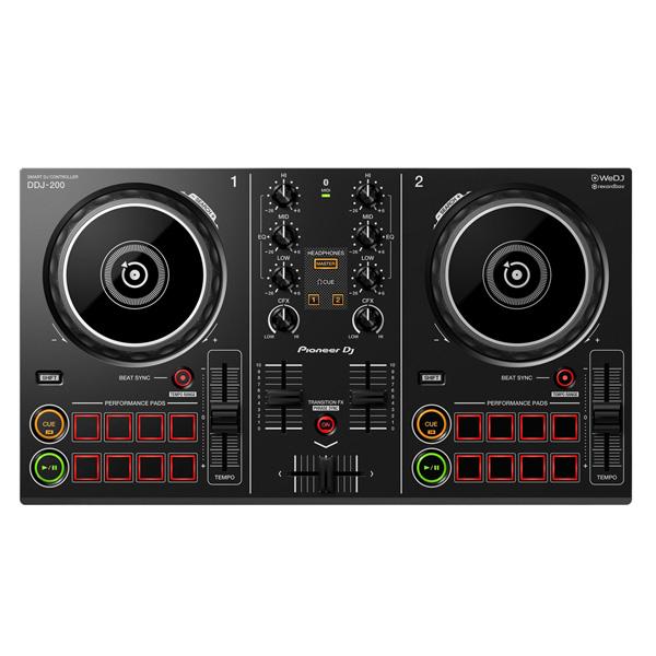 Pioneer(パイオニア) / DDJ-200  「WeDJ」「djay」「edjing Mix」「rekordbox dj」対応-スマートDJコントローラー-