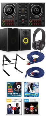 Pioneer(パイオニア) / DDJ-200 激安初心者Aセット 「WeDJ」「djay」「edjing Mix」「rekordbox dj」対応 14大特典セット