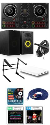 Pioneer DJ(パイオニア) / DDJ-200 激安初心者Aセット 「WeDJ」「djay」「edjing Mix」「rekordbox dj」対応 15大特典セット