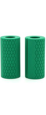 Perfect Grip / fat Silicone Barbell Grip(Green) ダンベルカール バーベルカール ラットプルダウン ベンチプレス