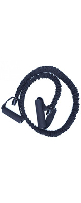 Perfect Grip / Fitness Resistance Bands(Black) フィットネス エクササイズ チューブ ロープ