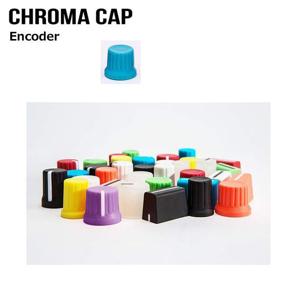 DJ TECHTOOLS / Chroma Caps Ver.2 ENCODER KNOB カラフルラバーコート ノブ フェーダー (※希望カラーはプルダウンより選択ください)