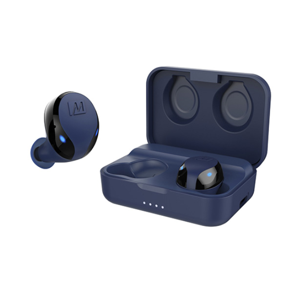 MEE audio(ミーオーディオ) / X10 (BLUE) Bluetooth 5.0対応 IPX5防汗仕様 完全ワイヤレスイヤホン 【6月7日発売】