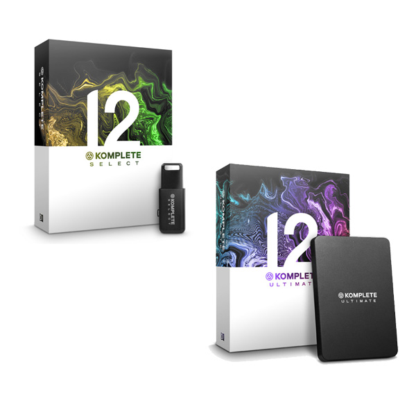 KOMPLETE 12 SELECT + KOMPLETE 12 ULTIMATE UPG アップグレードセット