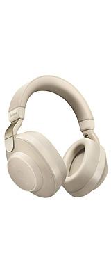 Jabra(ジャブラ) / Elite 85h (GOLD BEIGE) ノイズキャンセリング機能搭載 ワイヤレスヘッドホン 1大特典セット