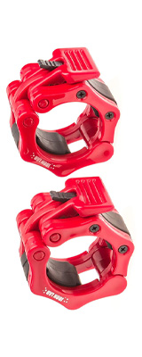Iron Lab / Olympic Barbell Collar 2個セット (RED) 内径50mm オリンピックバーベルカラー