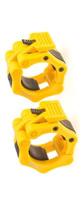 Iron Lab / Olympic Barbell Collar 2個セット (YELLOW) 内径50mm オリンピックバーベルカラー