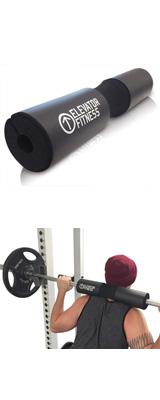 Elevator Fitness / Squat Pad Barbell Pad (18×3.5インチ) バーベルパッド スクワットパッド シャフトパッド