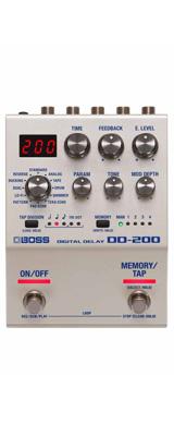 Boss(ボス) / DD-200 DIGITAL DELAY デジタル ディレイ ≪ギターエフェクター≫ 【今夏発売予定】 ※ご予約は受け付けておりません。